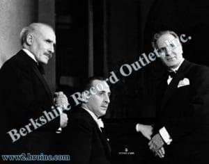 Arturo Toscanini, Vladimir Horowitz and Bruno Walter