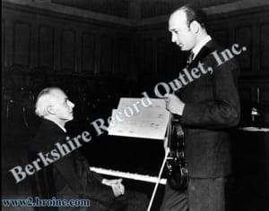 Bela Bartok and Joseph Szigeti