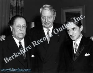 Pierre Monteux, Charles Munch and John Barbirolli