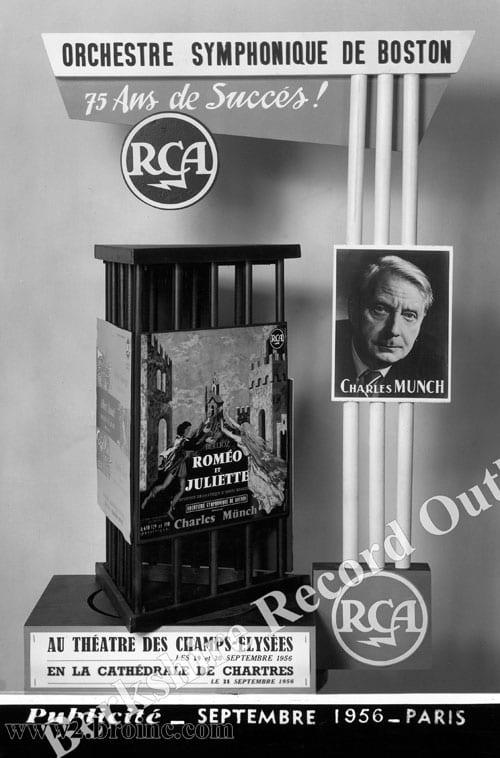Charles Munch/RCA/Berlioz poster