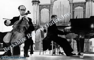 Mstislav Rostropovich and Dmitri Shostakovich