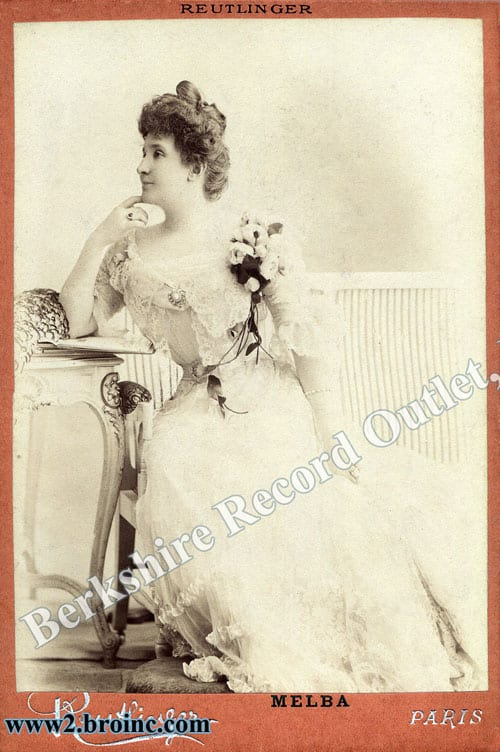 Nellie Melba poster NOT PRODUCED!!