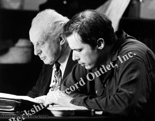 Leopold Stokowski and Glenn Gould