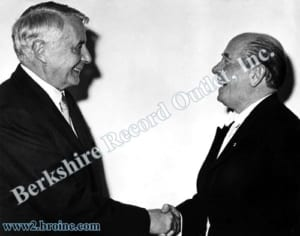 Charles Munch and Eugene Ormandy