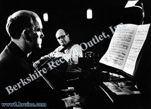 Sviatoslav Richter and Mstislav Rostropovich
