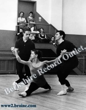 New York City Ballet dancers [including Melissa Hayden] in rehearsal