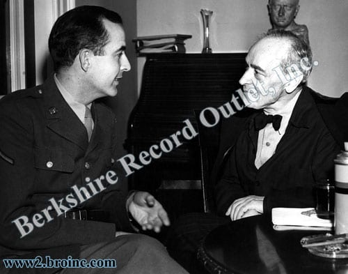 Samuel Barber and Serge Koussevitzky